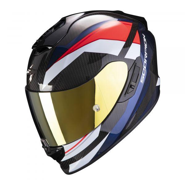 Scorpion EXO-1400 Carbon AIR Legione red-blue