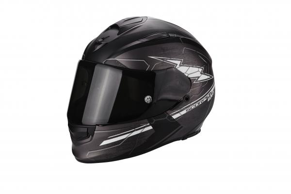 Scorpion EXO-510 AIR CROSS matt dunkelgrau-schwarz-weiss