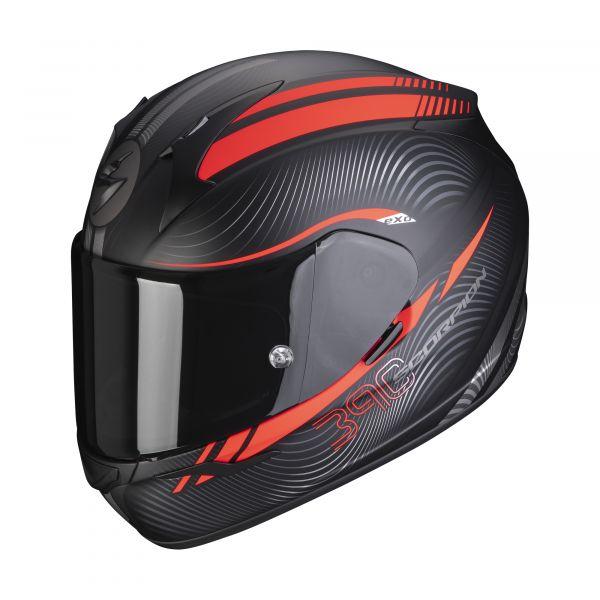 Scorpion Helm EXO-390 STING matt black-red