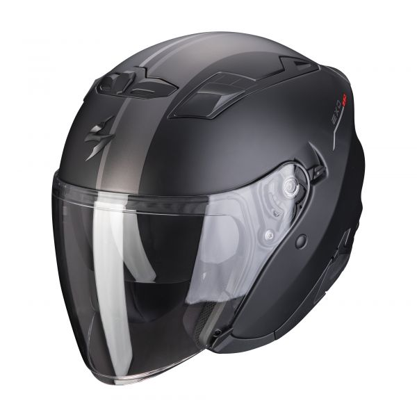 Scorpion EXO-230 SR matt black-silver-red