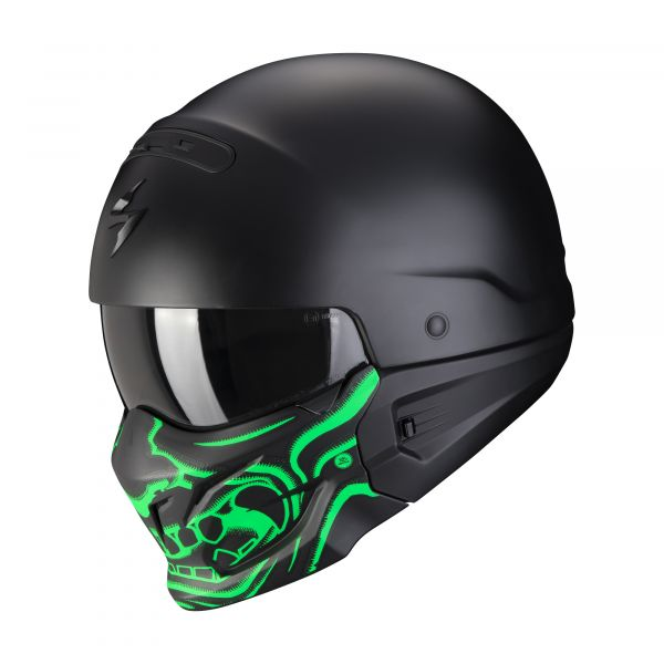 Scorpion EXO-Combat Evo SAMURAI matt black-green