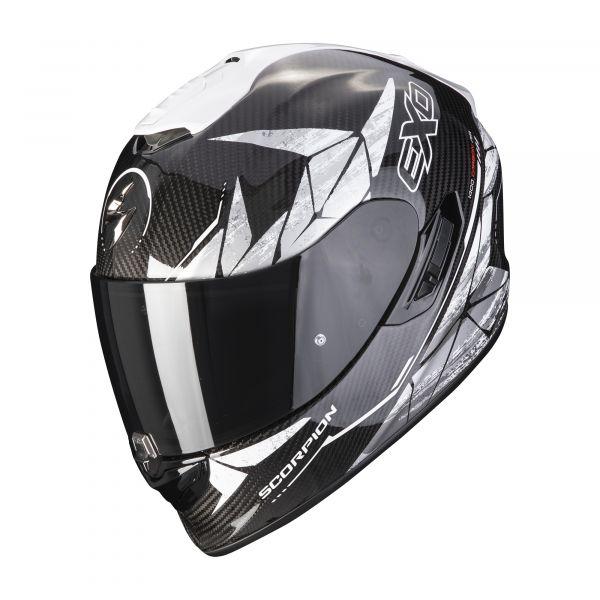 Scorpion EXO-1400 Carbon AIR ARANEA black-white
