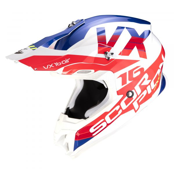 Scorpion VX-16 AIR X-Turn white-red