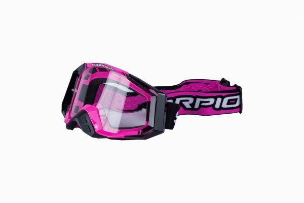 Brille Scorpion Off-Road pink-black