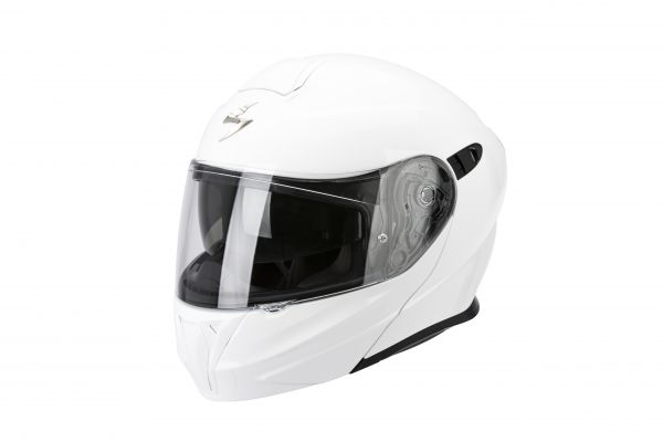 Scorpion Klapphelm EXO-920  Solid Weiss