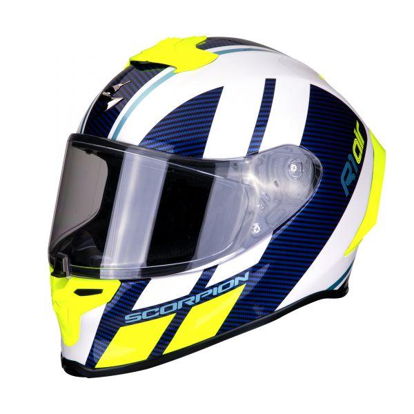 Scorpion EXO-R1 AIR Corpus white -blue-neon yellow