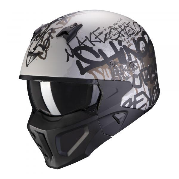 Scorpion Covert-X Wall matt silver-black