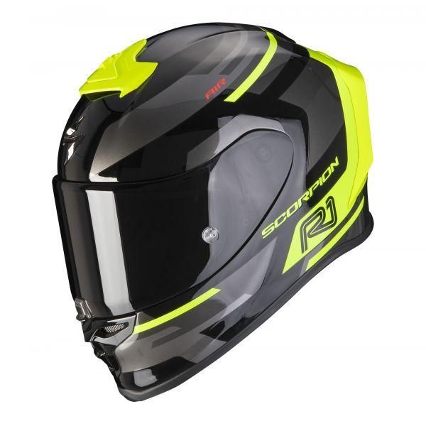 Scorpion EXO-R1 AIR ORBIS black-neon yellow