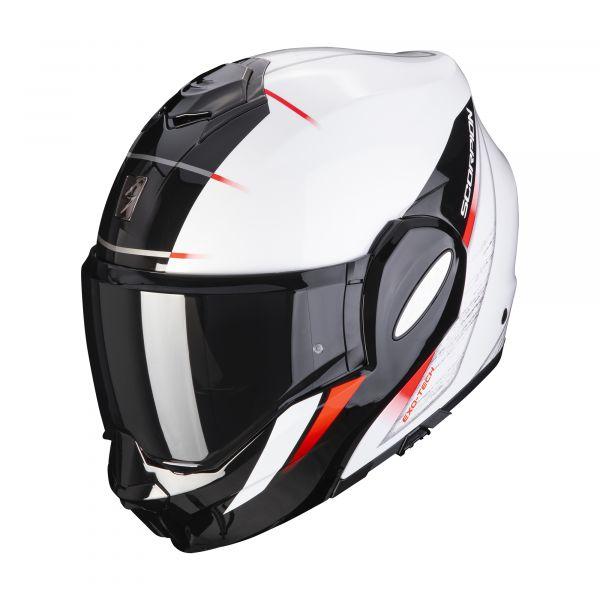 Scorpion EXO-TECH Primus pearl white-black