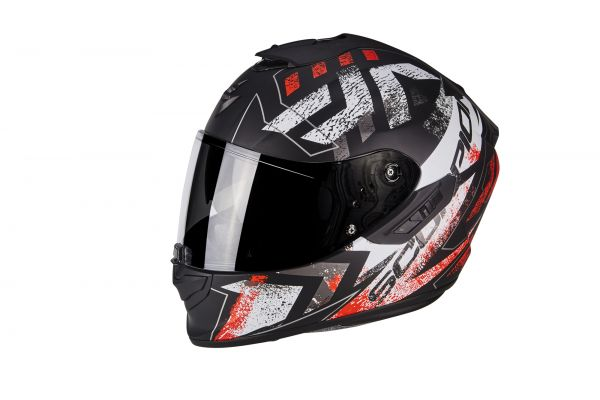 EXO-1400 Air Picta Matt Black-Neon Red