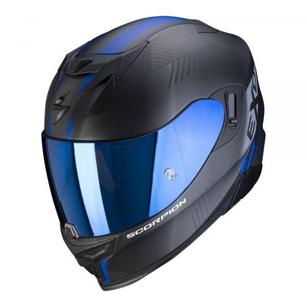 Scorpion EXO-520 AIR LATEN matt black-blue