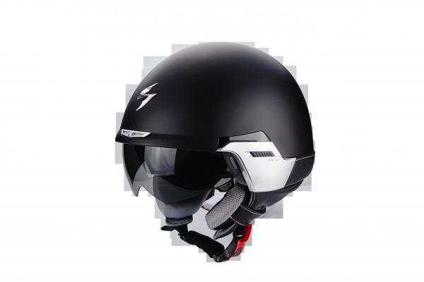 Scorpion Helm EXO-100 PADOVA II Matt Schwarz-Schwarz