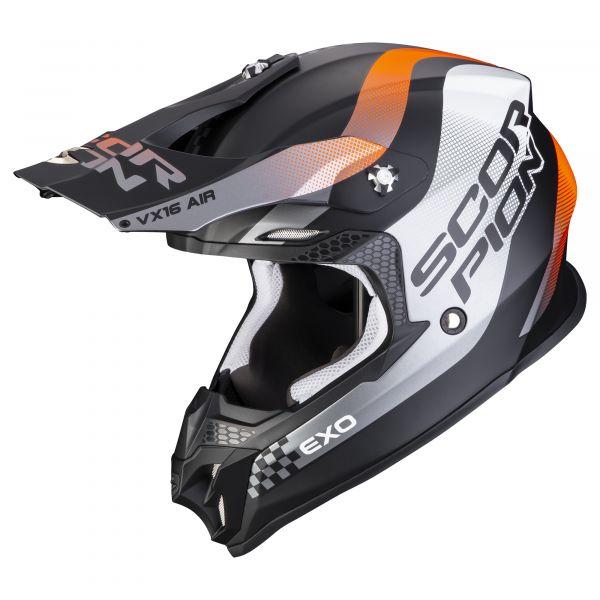 Scorpion VX-16 AIR SOUL matt orange-black