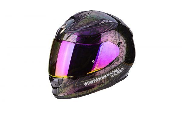 Scorpion Visier EXO-2000EVO-1200-710-510-410 Violett Maxvision Ready 3D