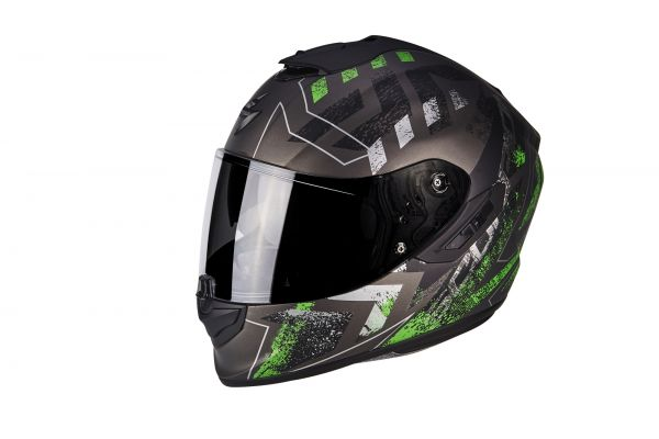 EXO-1400 Air Picta Matt Silver-Green