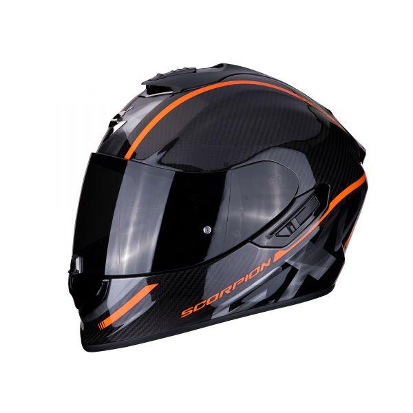 Scorpion EXO-1400 Carbon AIR Grand orange